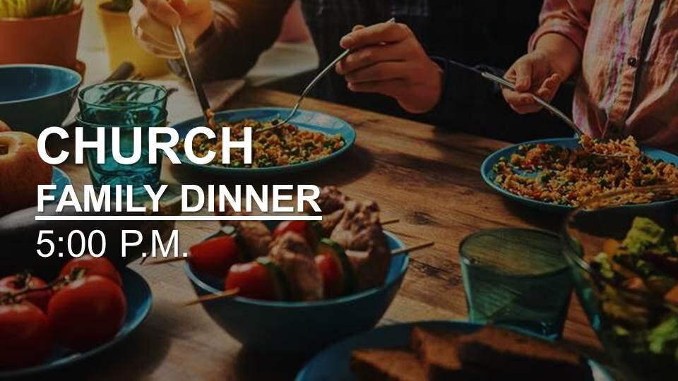 Church Family Dinner