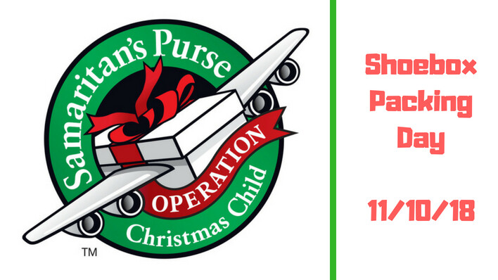 Operation Christmas Child Packing Day
