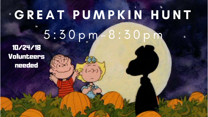 7th Annual Great Pumpkin Hunt