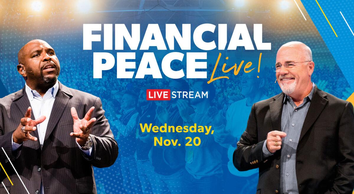 Financial Peace Livestream