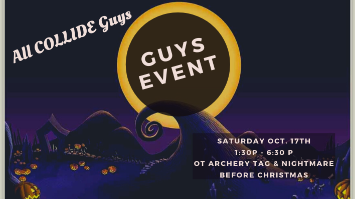 COLLIDE All Guys Event