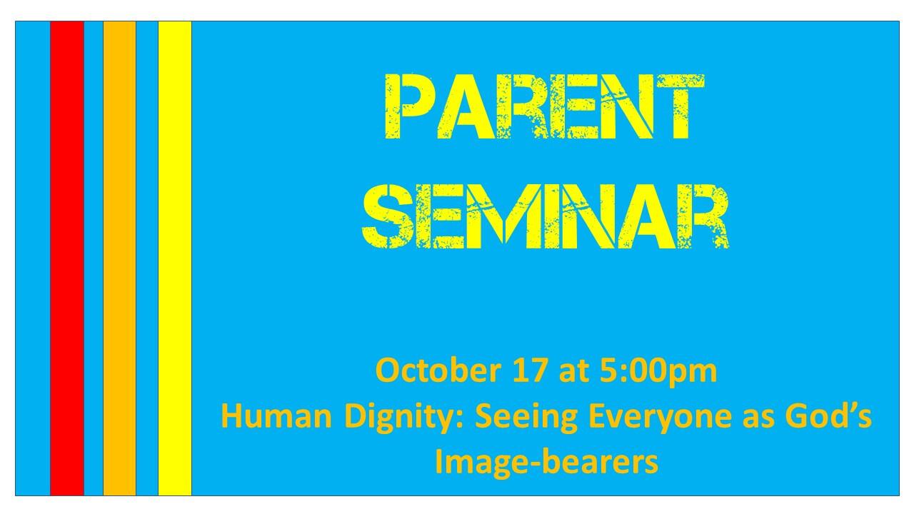 Parent Seminar #2